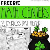 February's Freebies no1 St. Patrick's Math