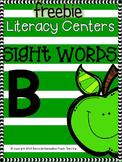 Sight Words B for Kindergarten FREEBIE