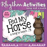 Fed My Horse {Prepare and Present: Tadimi / Ti-tiri / Ti-tika}