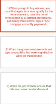 Federal Bureaucracy PowerPoint & Activity