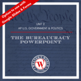AP Government Federal Bureaucracy PowerPoint with Lecture Notes