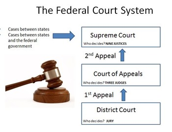 federal court system graphic organizer by the social studies doctor. Black Bedroom Furniture Sets. Home Design Ideas