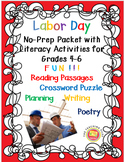 Labor Day for Grades 4-6 With Literacy Activities