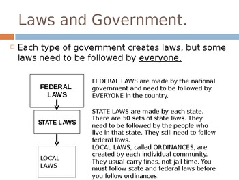 Federal, State, and Local Government