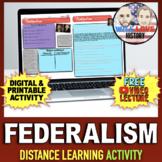 Federalism Activity