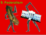 Federalism (U.S. Government) Bundle with Video