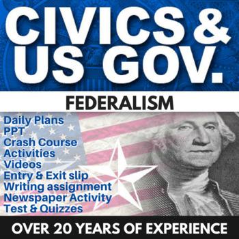 Federalism - Civics - Chapter 4 - Holt