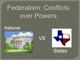 Federalism: Conflict between State and National Powers Sup