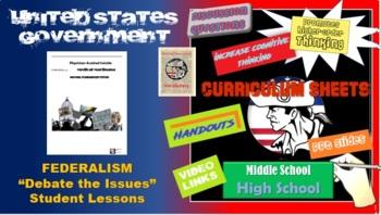 AP Government Federalism Debates (3 Scenarios to Debate)
