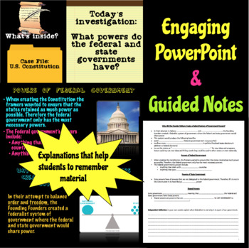 Federalism Interactive Lesson