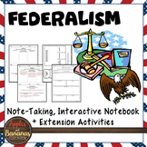 Federalism Interactive Note-taking Activities