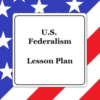 U.S. Federalism Lesson Plan