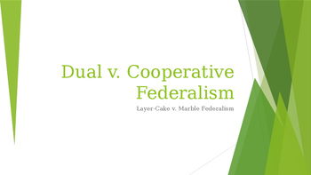 Federalism PPT (AP US Government)