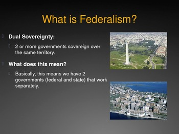 Federalism Power Point