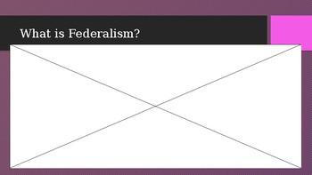 Federalism Powerpoint