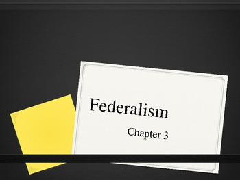 Federalism Powerpoint for AP Government