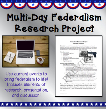 Multi-Day Federalism Research Assignment