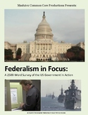 Federalism in Focus – Text