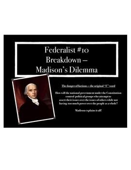 Federalist #10 Breakdown