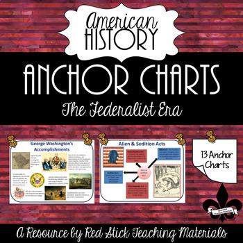 Federalist Era Anchor Charts