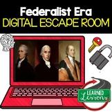 Federalist Era Digital Escape Room, Federalist Era Breakout Room