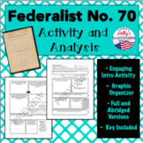 Federalist No. 70- Activity and Analysis- AP® U.S. Government