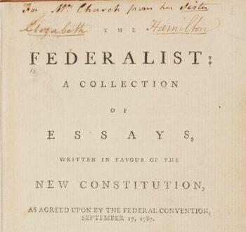 Federalist Paper #51 reading guide worksheet