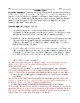 Federalist Papers (Adapted) Worksheet with Answer Key