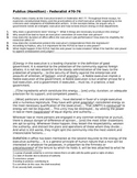 Primary Source DBQs on the Executive Branch - Federalist Papers #70-76