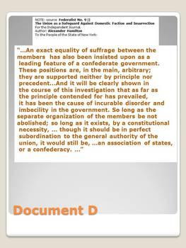 DBQ: Safeguard Against Insurrection Document Analysis Activity