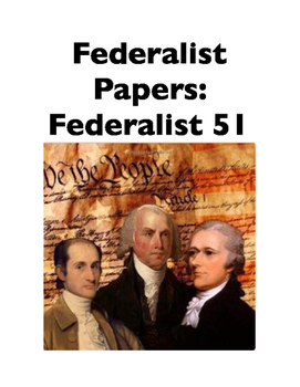 Federalist 51 (Full-Text Cloze)