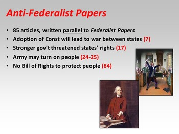 Federalist Papers (PPT)