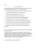 Federalist or Anti-Federalist worksheet
