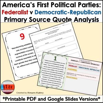 federalist v democratic republican quote analysis federalist v democratic republican quote analysis
