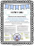 Federalist vs Anti-Federalist Bellwork/ Bellringer/ Close Reading {History Guru}