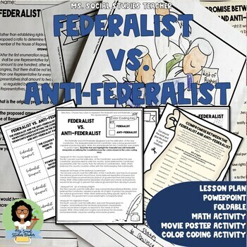 Federalist vs. Anti-Federalist Lesson