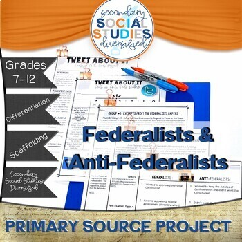 Federalists and Anti-Federalists Project (Twitter Inspired)