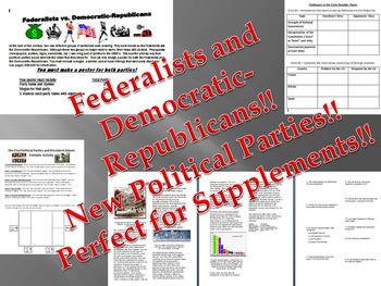 Federalists and Democratic-Republicans Bundle