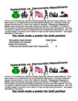 Federalists v. Democratic-Republicans: Early American Political Parties