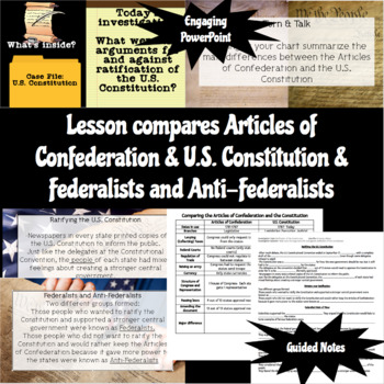 Federalists vs. Anti-Federalists Interactive Lesson