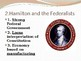 Federalists vs. Anti-Federalists PowerPoint