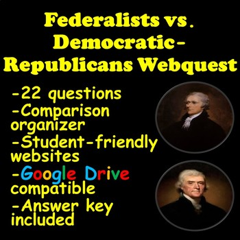 Federalists vs. Democratic-Republicans | Distance Learning