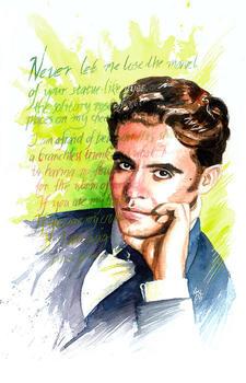 Federico Garcia Lorca - running dictation