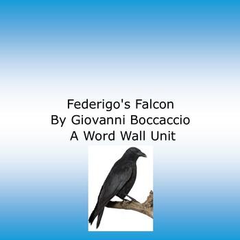 Federigo's Falcon by Giovanni Boccaccio: A Word Wall Unit