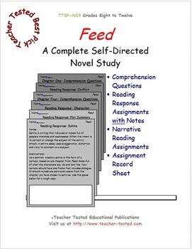 Feed: A Complete Novel Study
