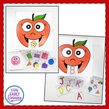 Feed Allie Apple - Letters, Phonics, Numbers, Shapes, Sight Words