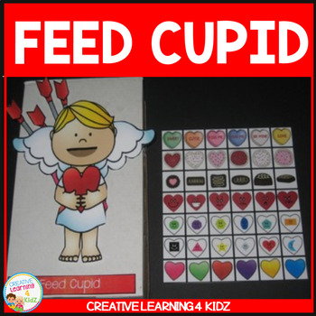Feed Cupid Cut-Out Valentine's Day Activity