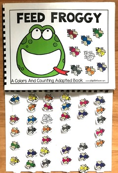 Feed Froggy:  Colors and Counting Adapted Book