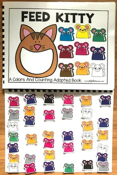 Feed Kitty:  A Colors And Counting Adapted Book