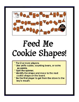 Feed Me 5 Cookies Board Game